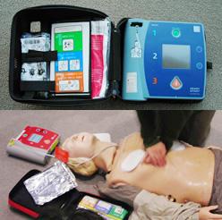 写真:AED