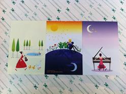 写真:りゅーとぴあオリジナルポストカード