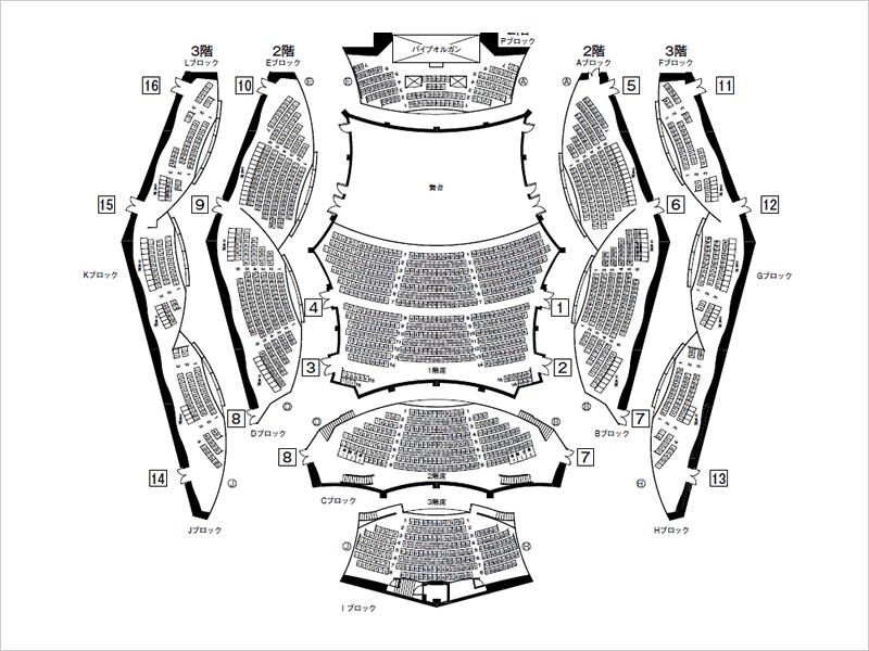 図:座席図