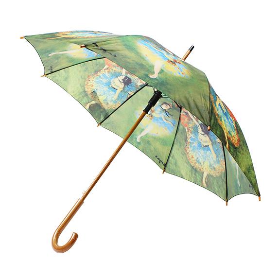 写真:ドガ踊り子ジャンプ傘