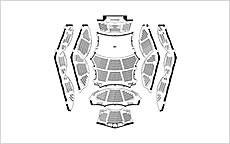 写真:コンサートホール座席表