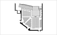 写真:能楽堂座席表
