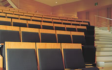 写真:座席表