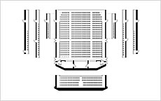 写真:劇場座席表