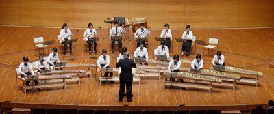 ジュニア邦楽合奏団の画像