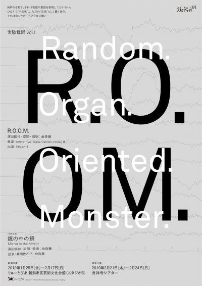 Noism1 実験舞踊 vol.1『R.O.O.M.』/『鏡の中の鏡』
