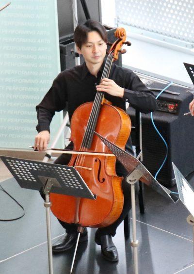 東響ロビーコンサート ~ ヴァイオリン&チェロ二重奏