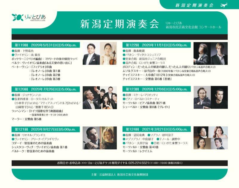 [速報]東京交響楽団 2020年度ラインナップの画像