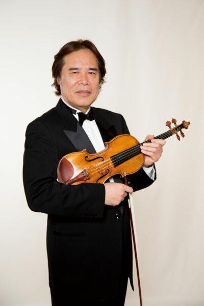徳永二男 無伴奏ヴァイオリン・リサイタルの画像