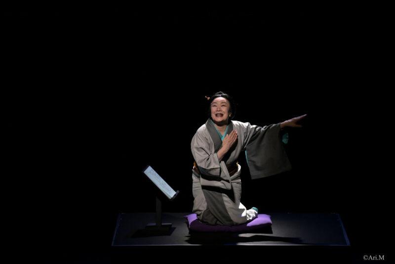 白石加代子さんから「百物語」初日コメントが届きましたの画像